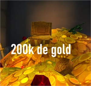 200k gold ouro wow azralon horda