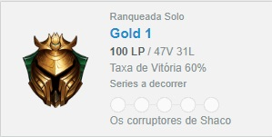 CONTA GOLD 1 - 100PDL