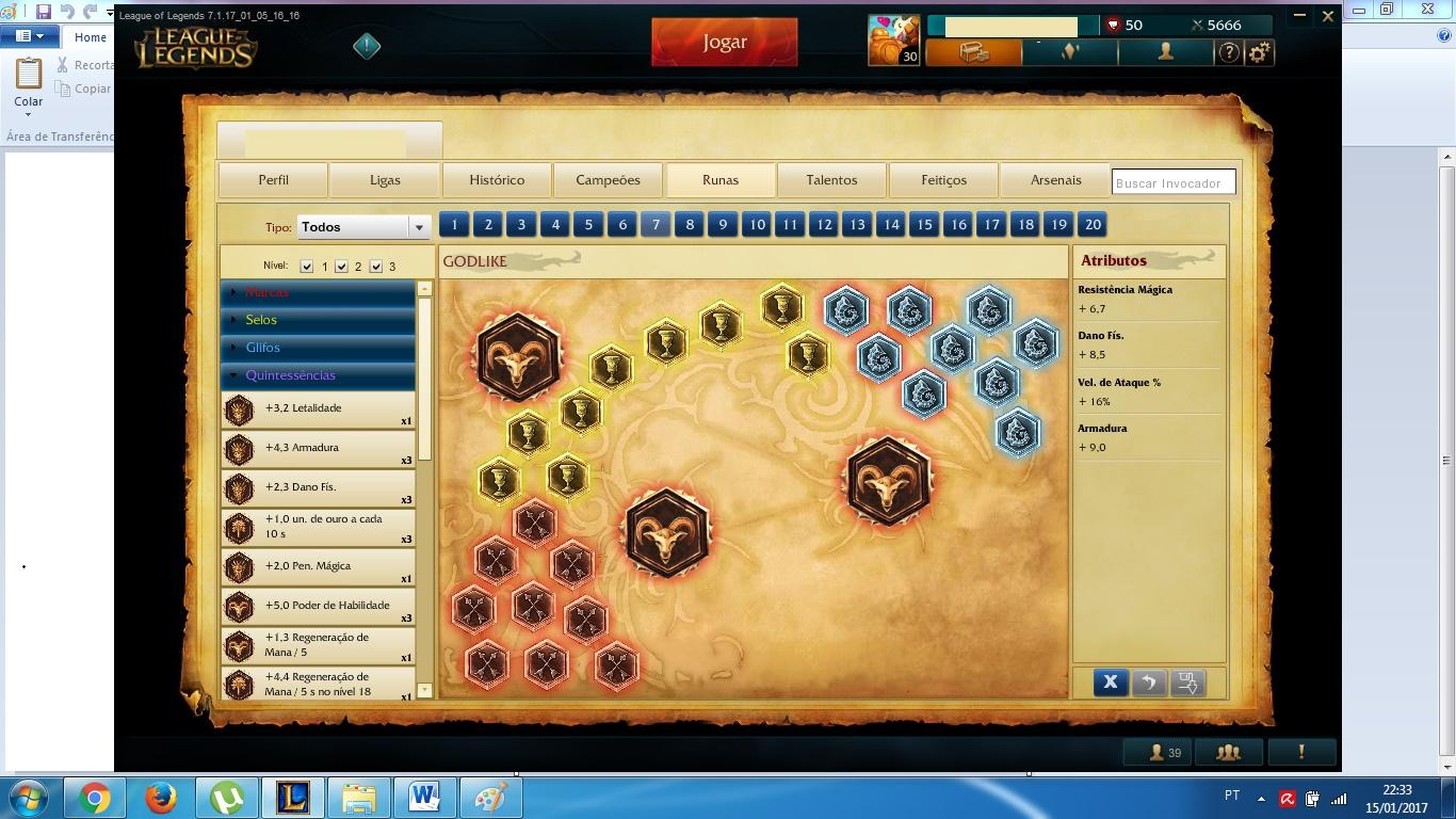 League Of Legends Conta De Lol Platina Ss 4 5 6 111 Campeoes 122