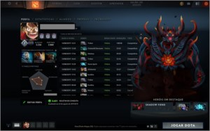 Conta Steam, Dota 2 Divine 7 5400 MMR Core e Support