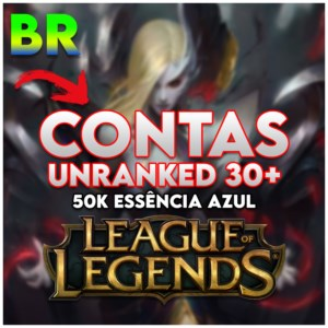 CONTAS UNRANKED LEAGUE OF LEGENDS - LVL 30 (smurf)