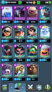 Cash Royale LVL 11Barata