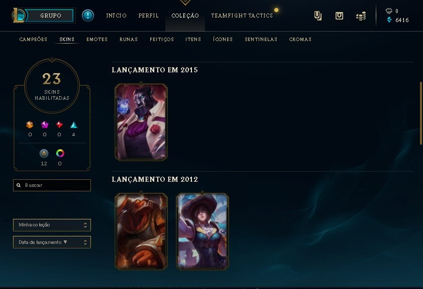 CONTA LEAGUE OF LEGENDS BARATA!!!