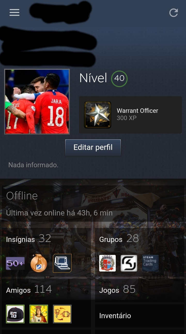 CONTA STEAM NIVEL 40