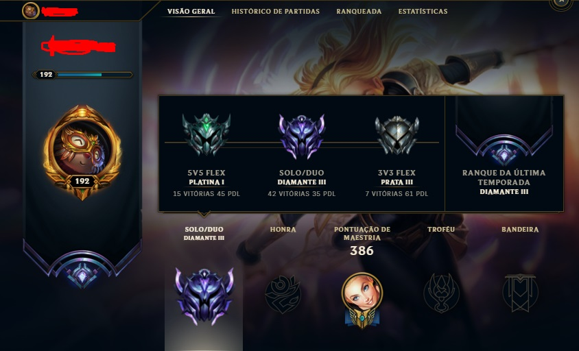 Elojob -League Of Legends (N vai até o diamante)