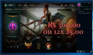 Conta League of Legends 119 Champions 24 Skins Gold lV