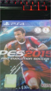 PS4 - PES 2015 Pro Evolution Soccer [ LACRADO ]