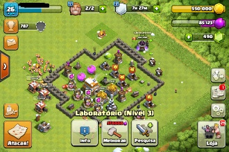 CONTA CV5 CLASH OF CLANS