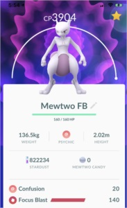 CAPTURA MEWTWO - CHANCE DE VIR SHINY