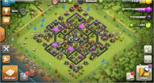 Conta Clash of Clans Cv9