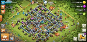 Centro de vila 13 Clash of Clans
