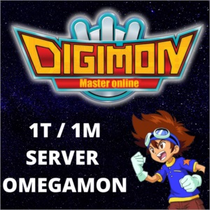1T Tera - Digimon Master Online - Server: Omegamon