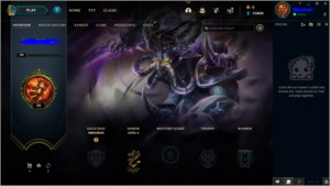 CONTA LEAGUE OF LEGENDS UNRAKED LVL 30