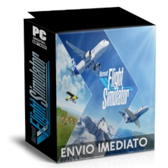 MICROSOFT FLIGHT SIMULATOR X - PRODUTO DIGITAL PC