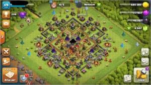 Clash of Clans CV10
