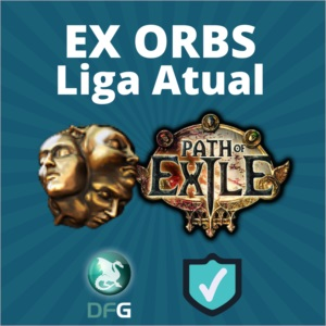 Exalted Orb - POE path of exile (Liga Atual)