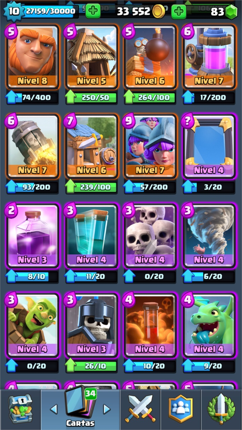 CONTA CLASH ROYALE NV 10