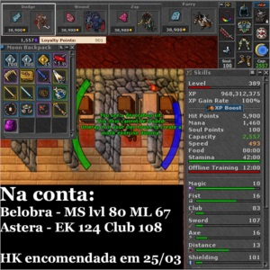 EK 389 Belobra + 2 makers