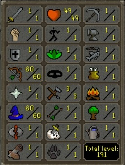 OSRS PURE RANGED / FULL PVP / 60 RANGED / 60 MAGIC / 10 QP