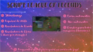 SCRIPT LEAGUE OF LEGENDS (PLANO MENSAL)