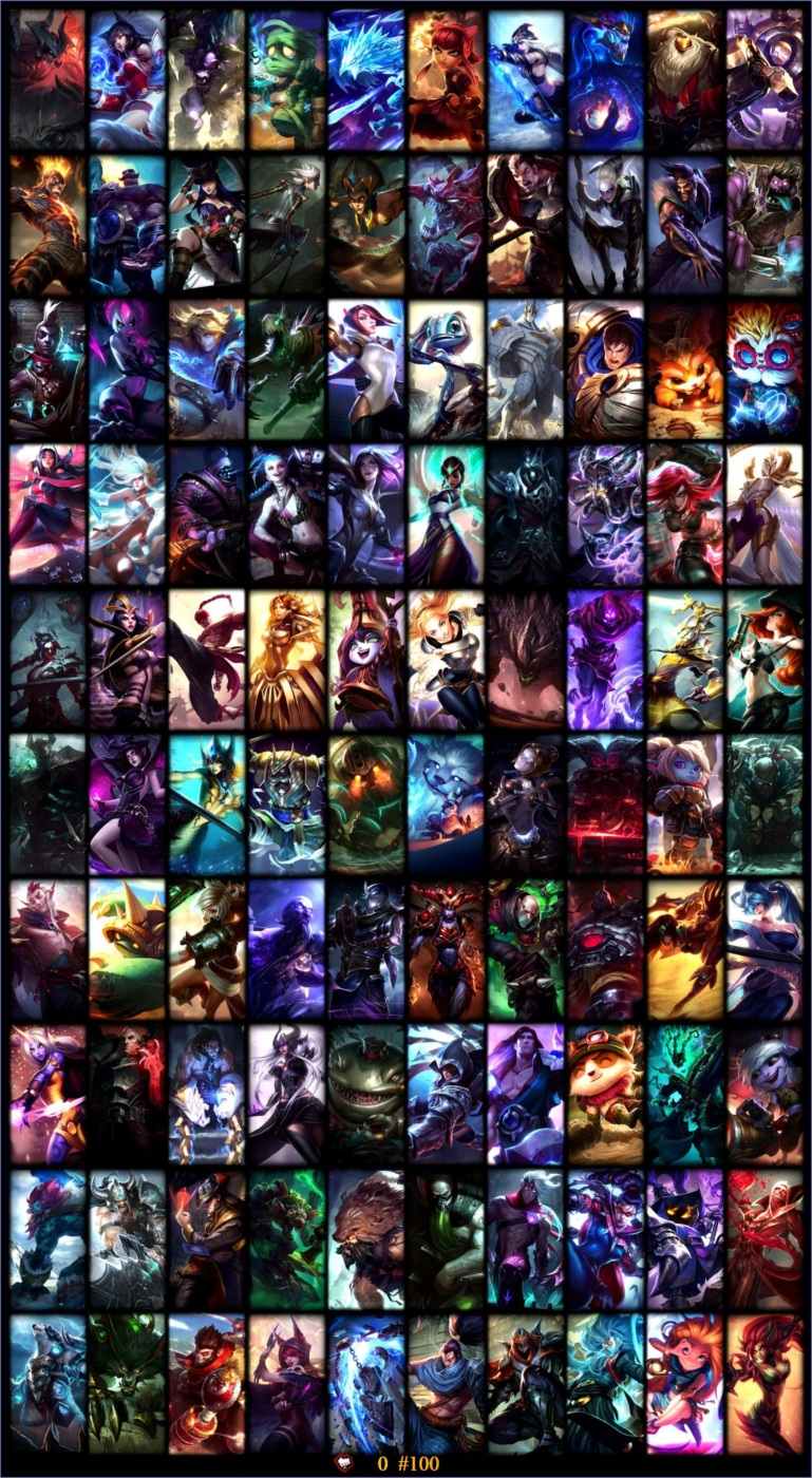 Conta League Of Legends Unranked  183 Skins