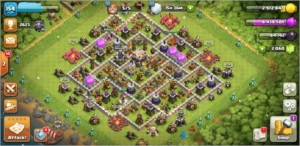 CLASH OF CLANS | CV 11 | HEROIS FULL, MUROS FULL