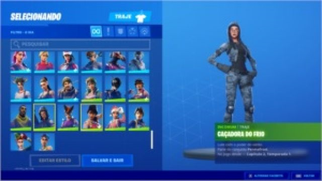 Conta Fortnite S3 a 12 Full, 150 Skins, Minty Axe