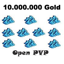 10.000.000 Gold  - Tibia  - Open PvP