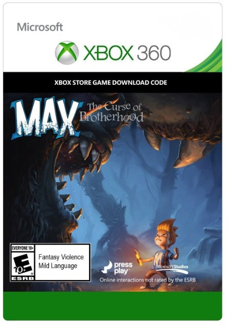 Jogo Max: The Curse Of Brotherhood - Xbox 360 Midia Digital
