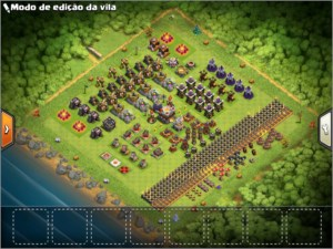 Clash of Clans CV 11 TOP + 1100 GEMAS!
