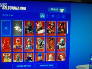 CONTA DE FORTNITE RENEGADE