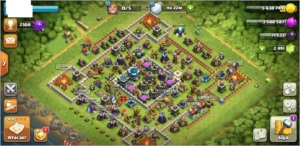 TH 13 com 3mil gemas - Rainha Full