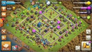 Conta Clash of Clans CV 12 Top demais!