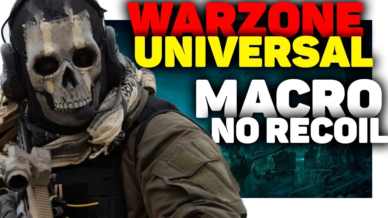 Script Premium No Recoil/ Rapid Fire Warzone Pc