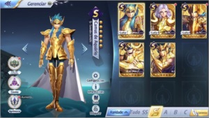 Conta Saint Seiya Awakening - FrozenBoys LVL80 (Server A-48)