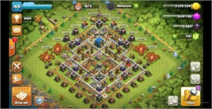 RECÉM Cv12 CLASH OF CLANS BLACK FRIDAY