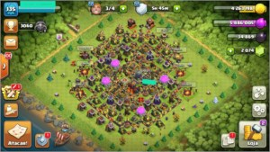 Cv10 quase FULL Clash of Clans