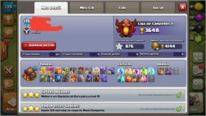 vila clash of clans cv10 top