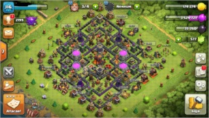 CONTA CLASH OF CLANS CV10 BARATO