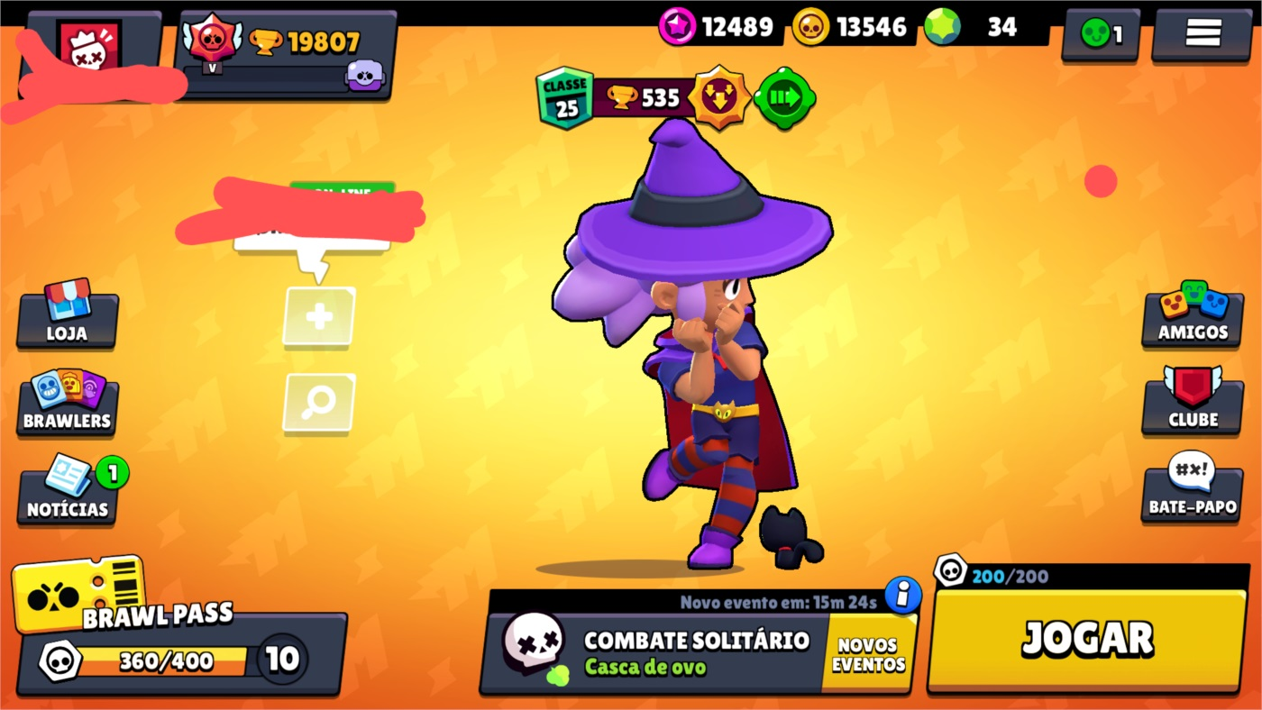 CONTA BRAWL STAR FULL
