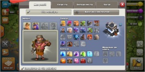 CLASH OF CLANS CV9 FULL 10K GEMAS