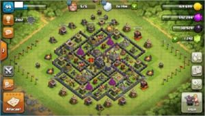 Conta Clash of Clans - CV9, lvl99.
