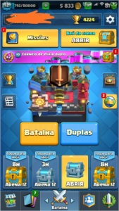 clash royale conta lv 12 com todas as lendarias