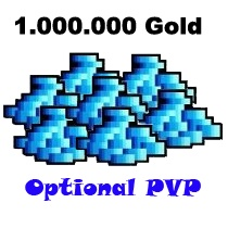 1.000.000 Gold - TIBIA - Optional PvP