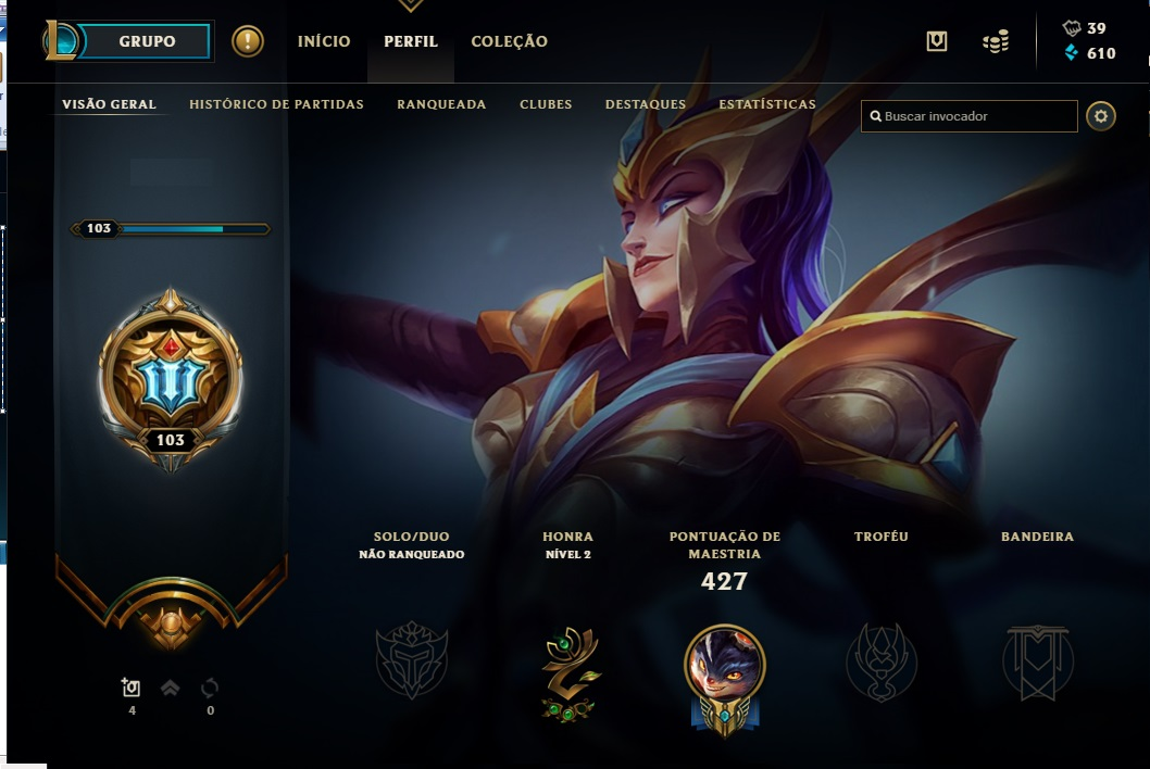 CONTA LEAGUE OF LEGENDS DESDE SEASON3 GASTO + DE 2,5K