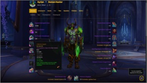 CONTA GLAIVES DO ILLIDAN + MAGE TOWER + COD BLACK OPS
