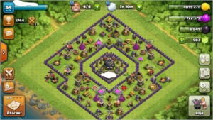 Conta CV9, barata ,de Clash Of Clans!