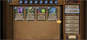 Hearthstone conta super top
