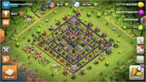 Clash of Clans cv9 BARATO