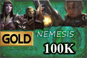 GOLD WOW  100K AZRALON/NEMESIS/GALLYWIX/GOLDRIN/STORMRAGE